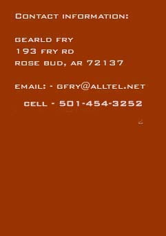Gearld Fry - Contact Info