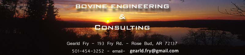 Bovine Engineering & Consulting - Gearld Fry